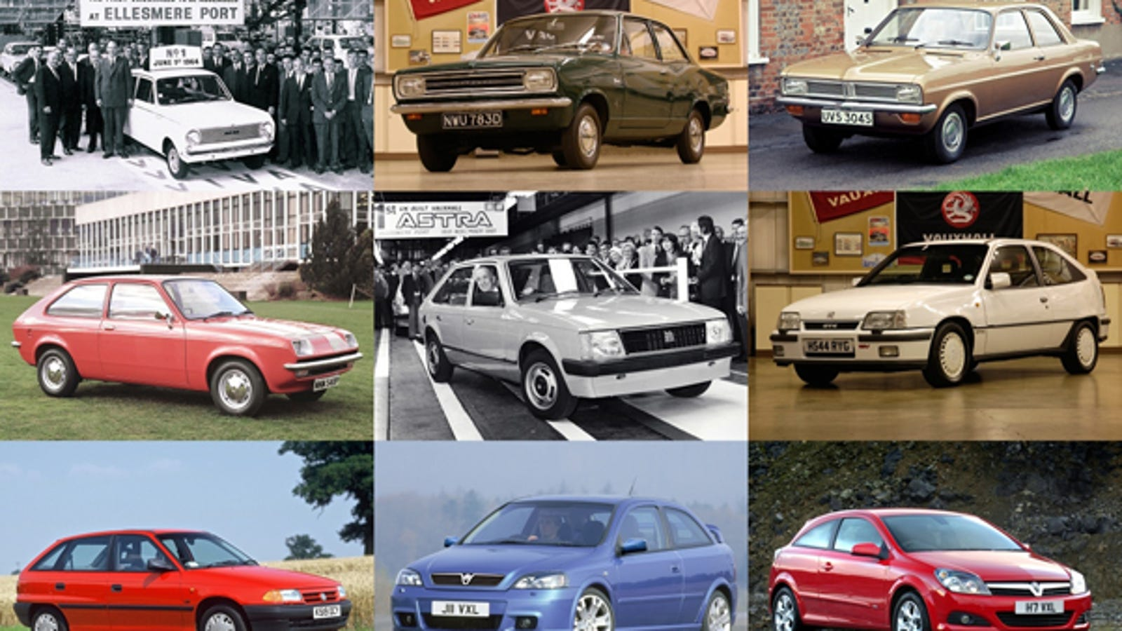 91fa77868f Nine Generations Of Vauxhall Small Cars  From Viva To Chevette To Astra