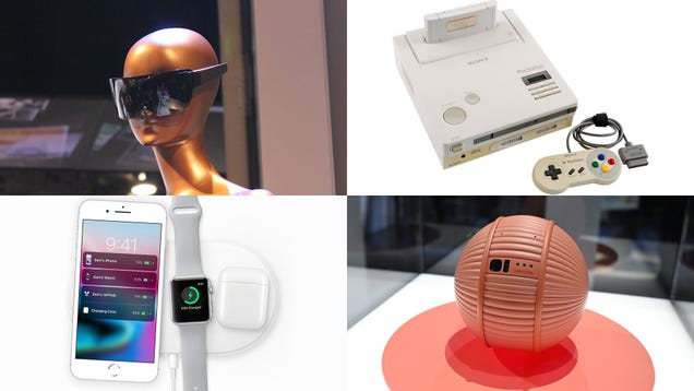 The 10 Coolest Concept Gadgets That Never Made It to Stores
