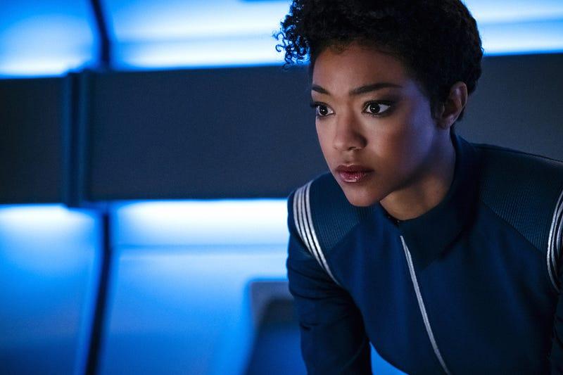 Sonequa Martin-Green stars in Star Trek: Discovery (Photo: Jan Thijs/CBS)