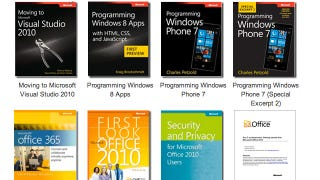 Illustration for article titled Grab Over 80 Free Ebooks from Microsoft and Learn Something Tech-y