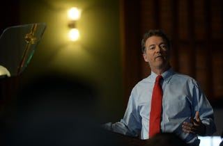 Illustration for article titled Rand Paul Admits He's Just Kind Of a Dick To Everyone