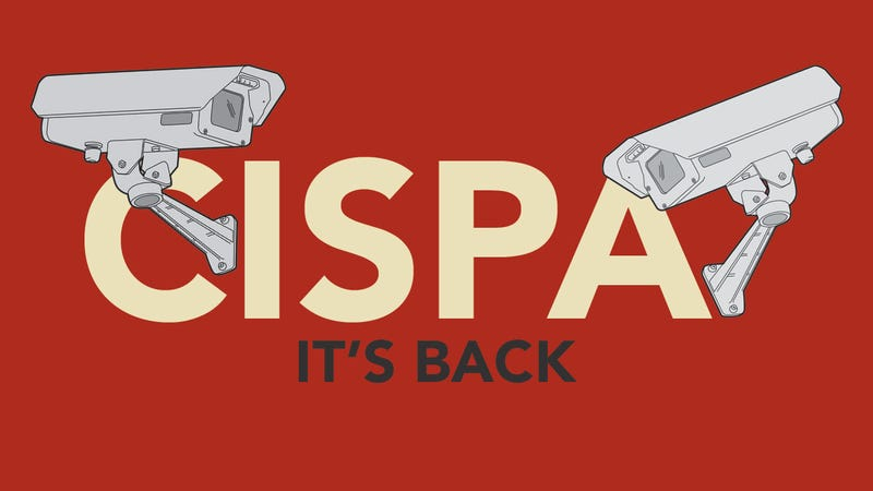 Illustration for article titled CISPA's Back: Here's What You Need to Know
