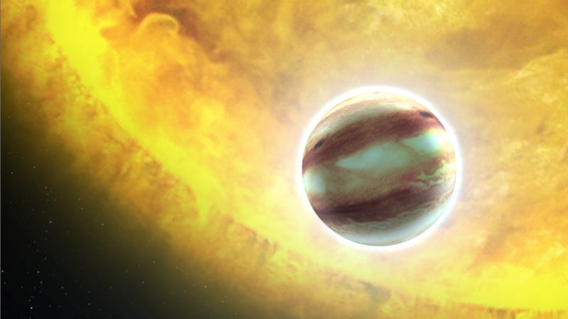 Illustration for article titled Astronomers have discovered the first four exoplanets of 2012