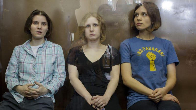 Illustration for article titled Pussy Riot Found Guilty and Sentenced to Two Years in Prison; Worldwide Protests Scheduled