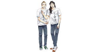 Illustration for article titled Jesus and Buddha Living in Tokyo, Sharing an Apartment and Heading to the Big Screen