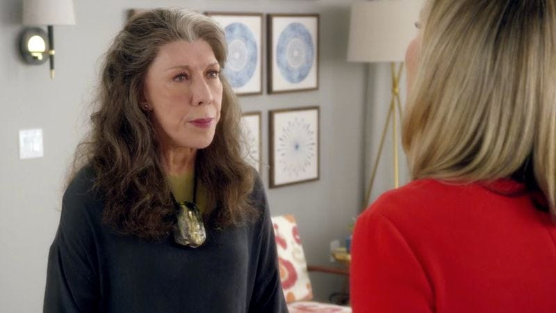 Illustration for article titled Grace And Frankie finds its comedic voice again