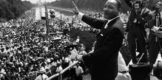 Dr. Martin Luther King Jr. (AFP/Getty Images)