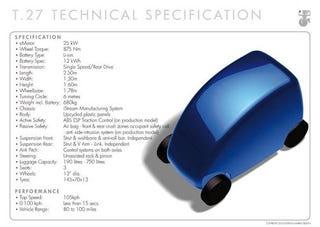Illustration for article titled Gordon Murray Design T.27