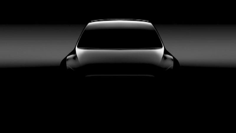 Illustration for article titled Tesla Dropped A First Look Of The Model Y And It Doesn't Have Any Dang Mirrors