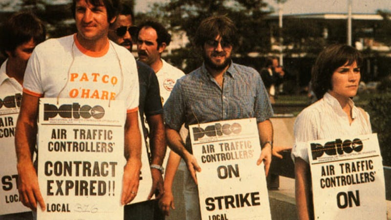 Image result for air traffic controllers in the u.s. to on strike