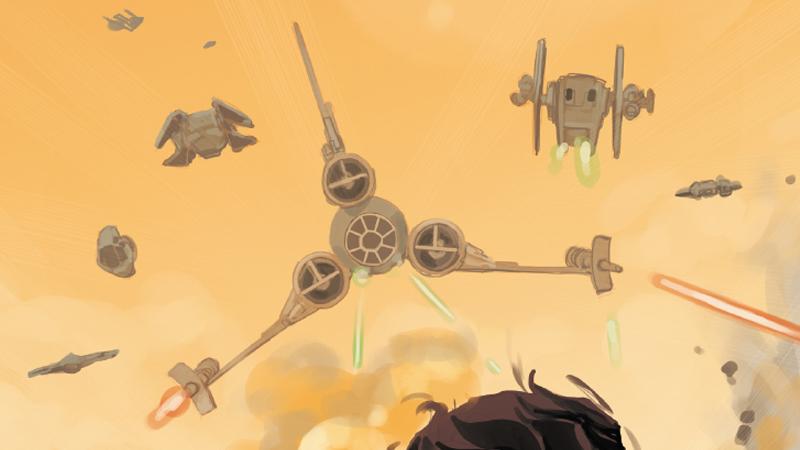 Illustration for article titled Behold, Frankenstein's Star WarsShips