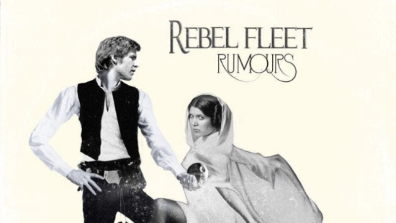 Illustration for article titled One Instagram user expertly mashed up classic album covers with Star Wars