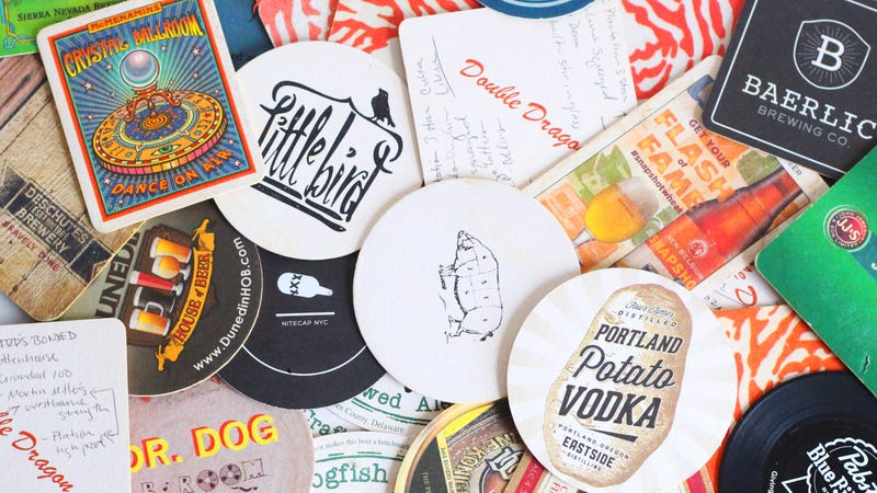 Illustration for article titled Take Coasters From Bars