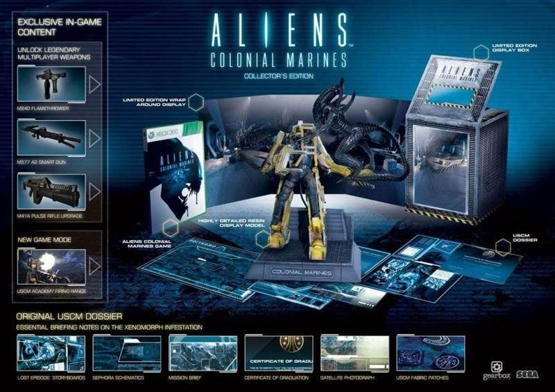 An Aliens Colonial Marines Collectors Edition? Bay 12, Please.