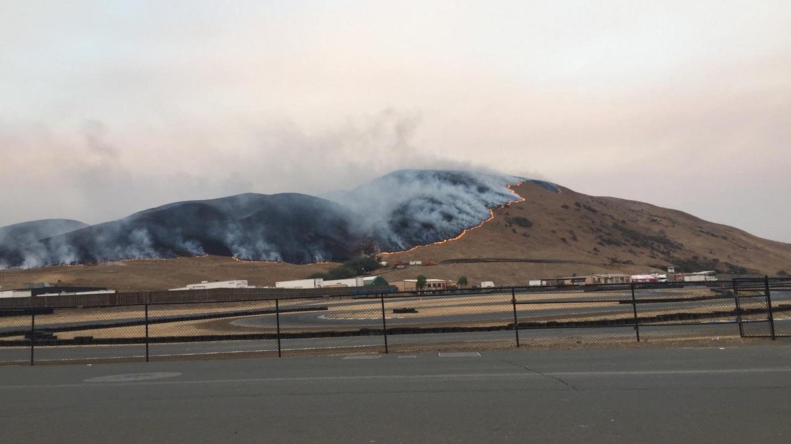 California Wildfires Barely Miss NASCAR's Sonoma Raceway