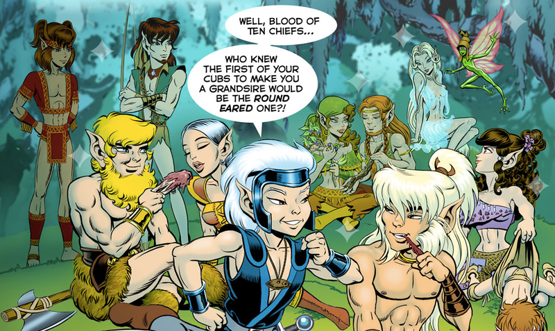 Illustration for article titled Sexy new Elfquest story online!