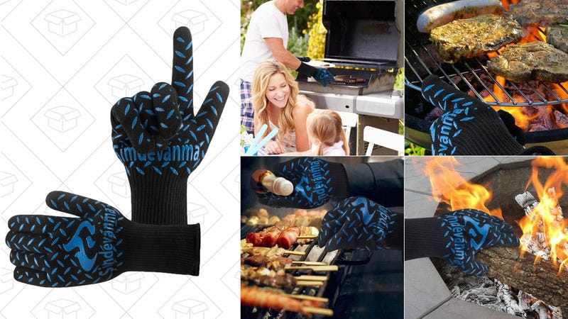 Heat Resistant Cooking Gloves, $13 with code WGUYGS89