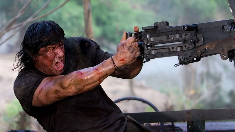 Illustration for article titled Sylvester Stallone confirms that Rambo: Last Blood is happening