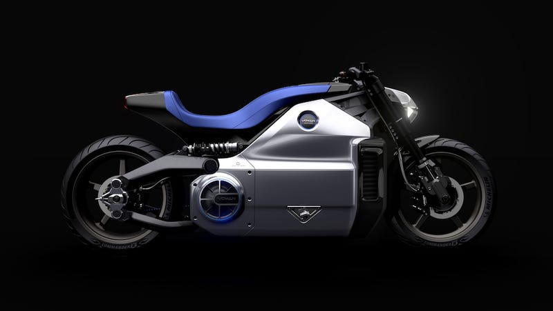Illustration for article titled World's most powerful electric motorcycle looks like the future