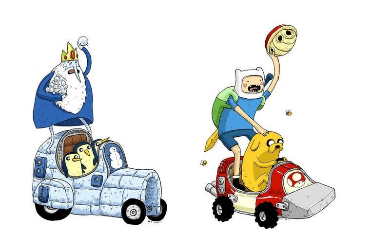 Illustration for article titled Adventure Time Kart