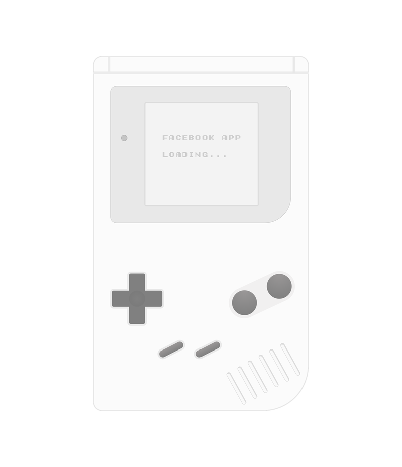 Illustration for article titled Gameboy UI template