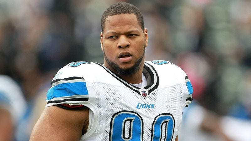 Illustration for article titled Ndamukong Suh Fined $75,000, Just To Wrap Things Up