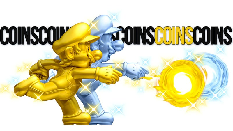 Illustration for article titled New Super Mario Bros. 2 Is All About Fresh Power-Ups, Spiteful Multiplayer And Coins, Coins, Coins