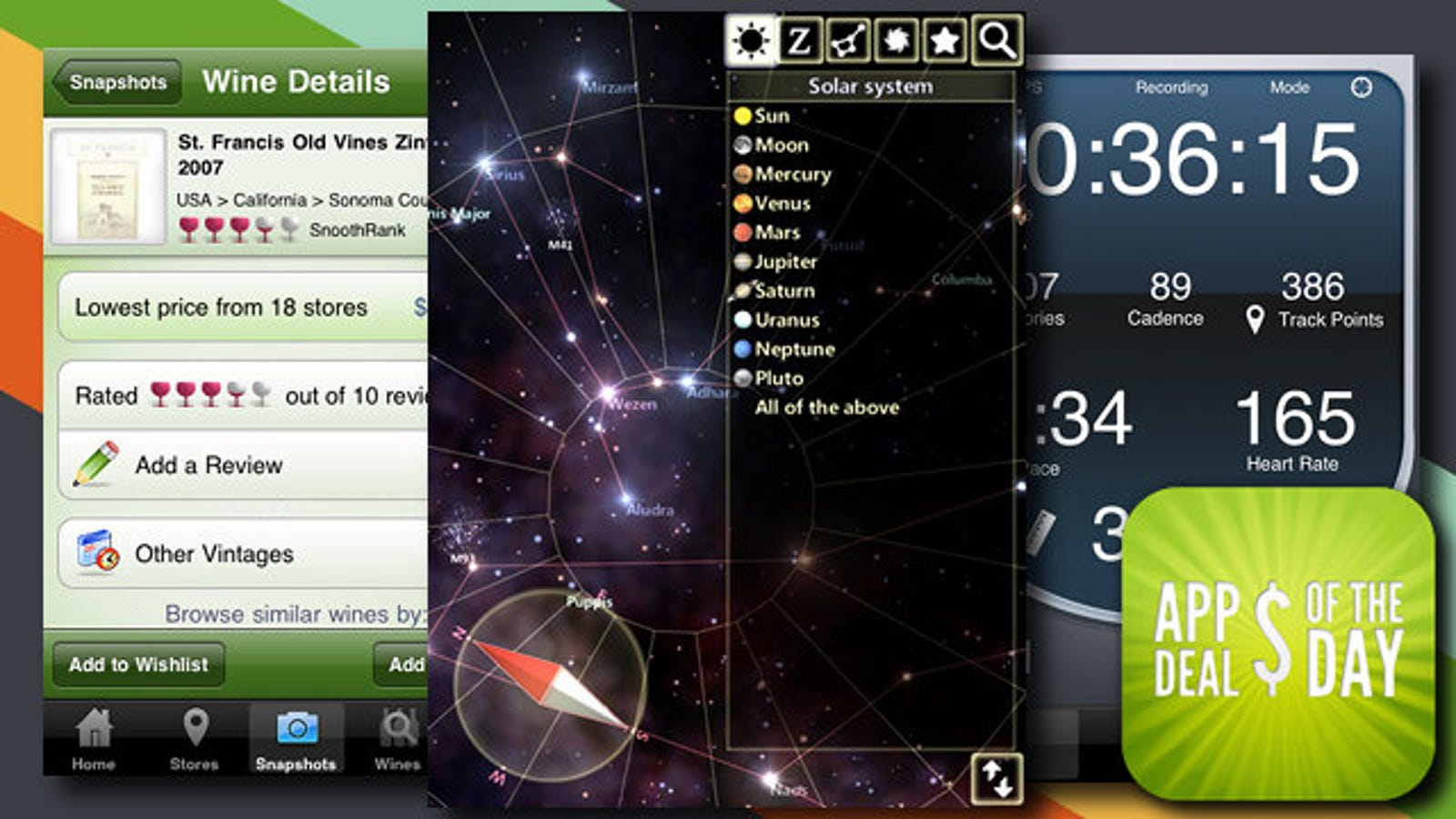 Daily App Deals: A Free Augmented Reality Sky Map for iPads on free space map, free night sky, free sky chart,