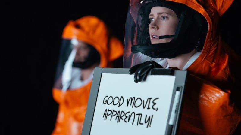 I Haven't Seen Arrival, But I Hear It's Good