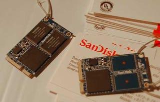 Illustration for article titled SanDisk Vaulter 16GB SSD Sneaks In Via PCIe Port