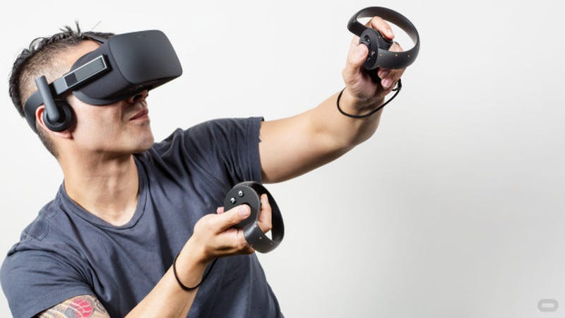 Illustration for article titled Oculus Rift's Touch Controller Changes Everything