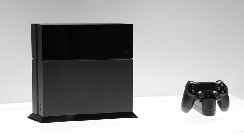Illustration for article titled Here's What the PS4 Looks Like in Person