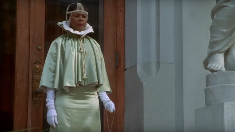 Cicely Tyson as Madame Queen in 1997's Hoodlum. Photo via screencap, YouTube.