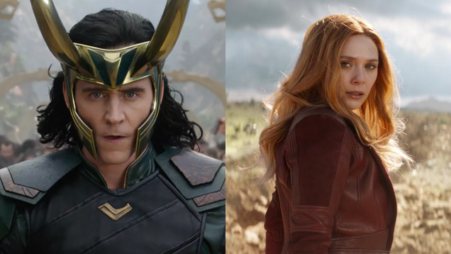 Report: Loki and Scarlet Witch Could Get Their Own Shows on Disney s Streaming Service