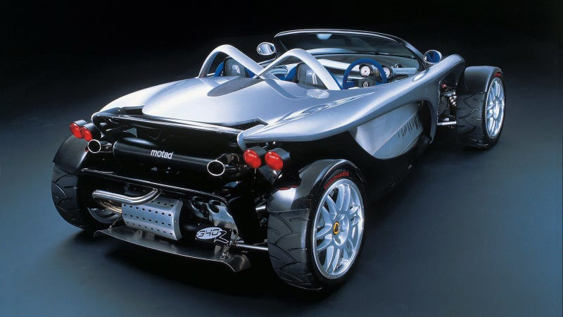 Illustration for article titled The Lotus 340R Is Still One Of The Most Extreme Cars Put Into Production