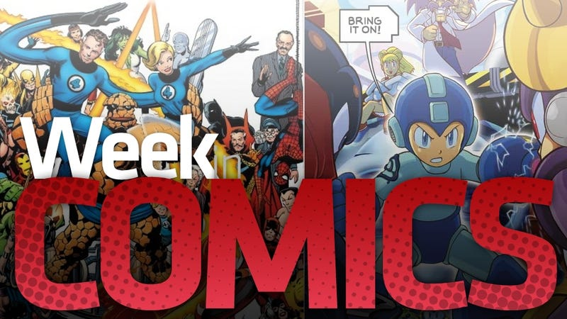 Illustration for article titled These Are the Most Interesting New Comic Books This Week, $125 Fantastic Four Included