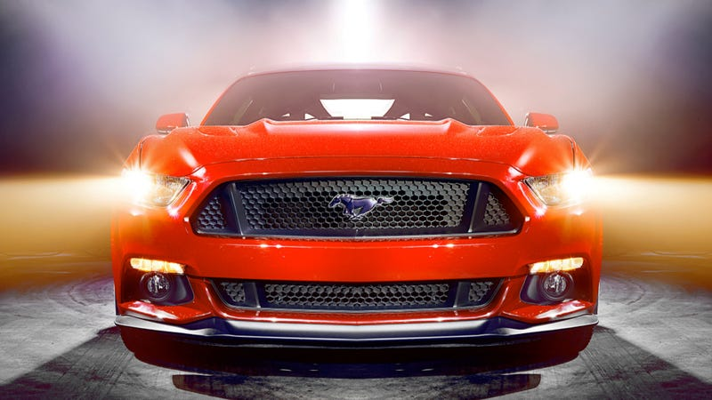 Illustration for article titled These Are The Most Kickass Photos Of The 2015 Ford Mustang Yet