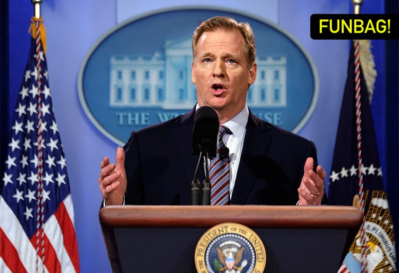 Illustration for article titled What If Roger Goodell Were President?