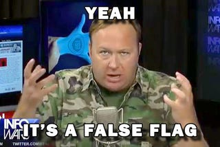 Illustration for article titled Infowars is just asking: Was Charleston a false flag?