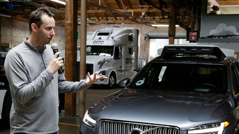 Uber Threatens to Dump Engineer Accused of Stealing Trade Secrets From Waymo