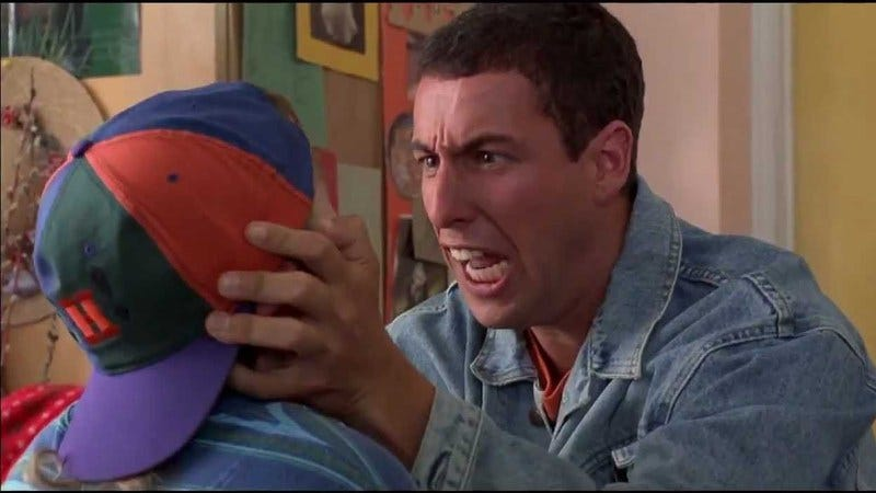Illustration for article titled Has Adam Sandler's contempt for his audience sunk his box-office draw?