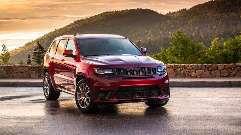 Illustration for article titled Six Jeep Grand Cherokee Trackhawks Stolen From Detroit Assembly Plant