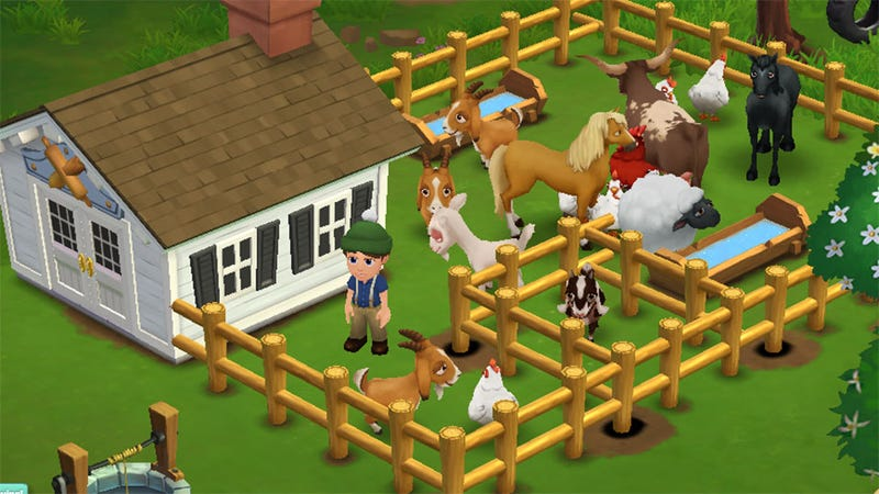 Illustration for article titled What Facebook is Playing This Week: I'm Going to Run Out of FarmVille 2 Screenshots