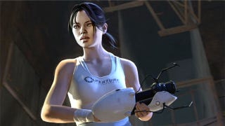 One Of The Stars Portal 2 Human Heroine Chell Has Undergone A Few Changes During Her Centuries Long Sleep And Last Year
