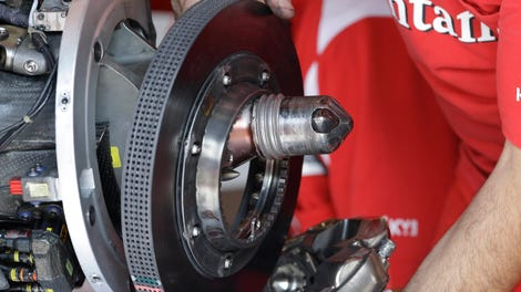 Watch A Brake Disc Explode Under The Power Of Friction