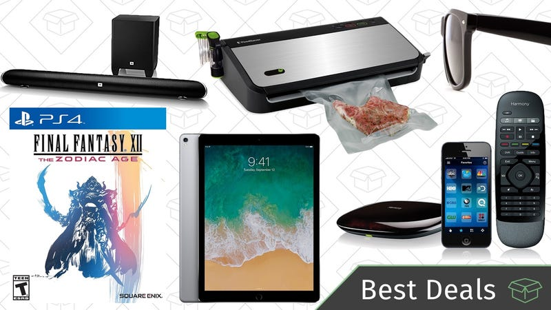 Illustration for article titled Sunday's Best Deals: $50 FoodSaver, Final Fantasy, iPad Pro, and More