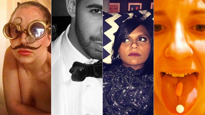 Illustration for article titled Selfie Loathing: What Celebrities Did on Instagram This Week