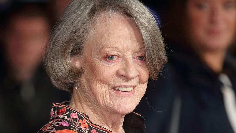 Illustration for article titled Movie Fans Rejoice! Maggie Smith Has Signed On To Play The Role Of Elderly Kermit The Frog In An Upcoming Susan B. Anthony Biopic!