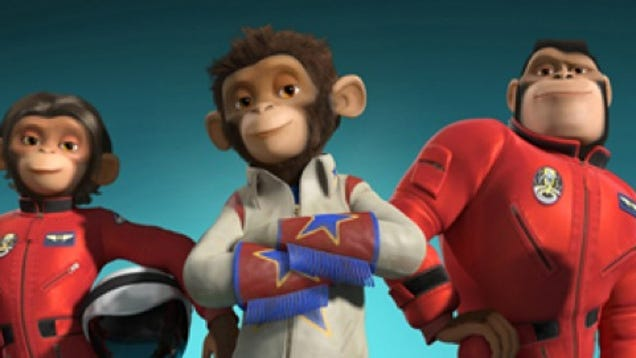 monkey astronaut movie - photo #13