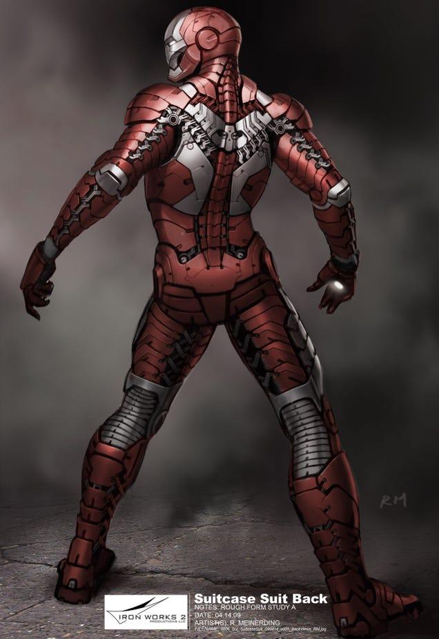 Iron Man 2 Suitcase Armor Wallpaper